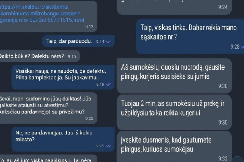 Pradėtas ikiteisminis tyrimas.<br>Vilniaus apskr. VPK nuotr.