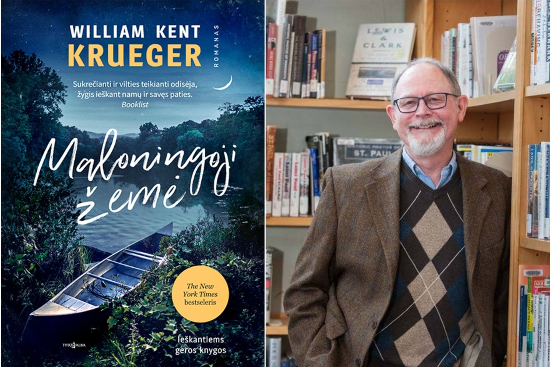"""""""Tai istorija apie gyvenimą keičiančią kelionę, kurioje svarbiausia ne įveikti kilometrai, bet tai, kokie tampame po jos"""" – taip apie amerikiečių rašytojo William Kent Krueger romaną """"Maloningoji žemė"""" rašo New York Times.<br>Asmeninio albumo nuotr."""