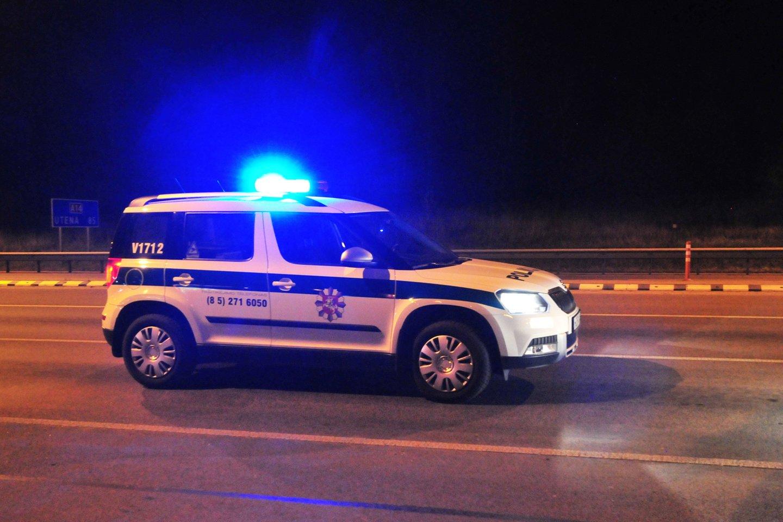 Policija<br>A.Vaitkevičiaus nuotr.