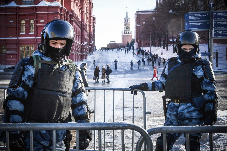 Anksčiau šį mėnesį Rusijoje buvo vykdomos kratos Jehovos išpažinėjų namuose.<br>AFP/Scanpix nuotr.