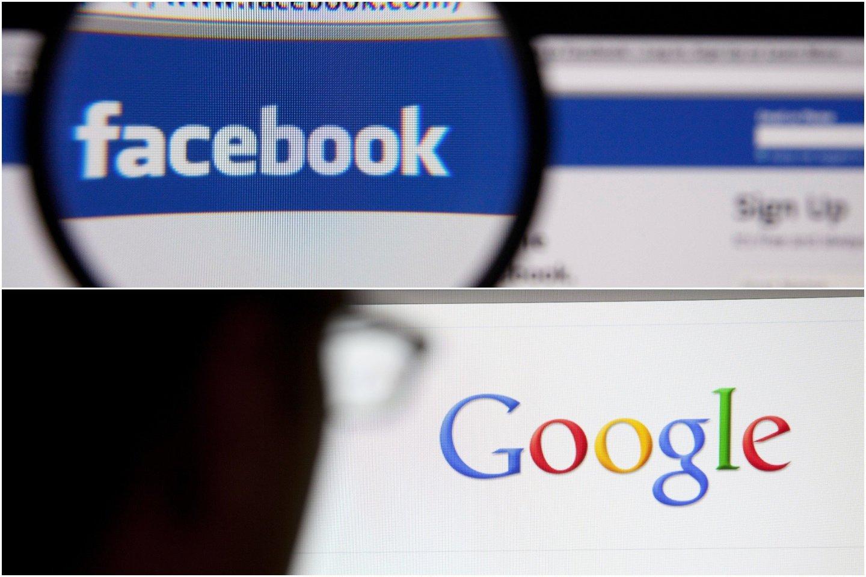 """Naujasis įstatymas paruošia dirvą """"Google"""" ir """"Facebook"""" investuoti dešimtis milijonų dolerių į sutartis dėl dalijimosi vietos žiniasklaidos turiniu.<br>123 rf nuotr. / lrytas.lt mont."""