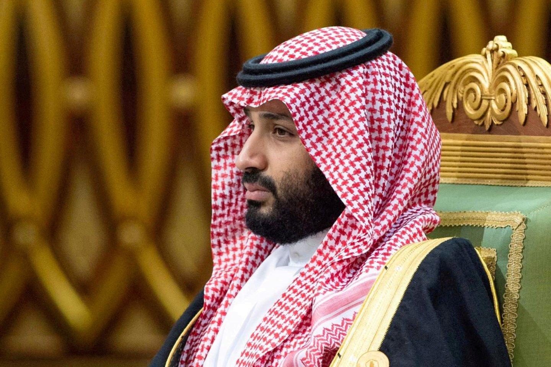 """Saudo Arabijos sosto įpėdinis princas Mohammedas bin Salmanas.<br>""""Scanpix: nuotr."""