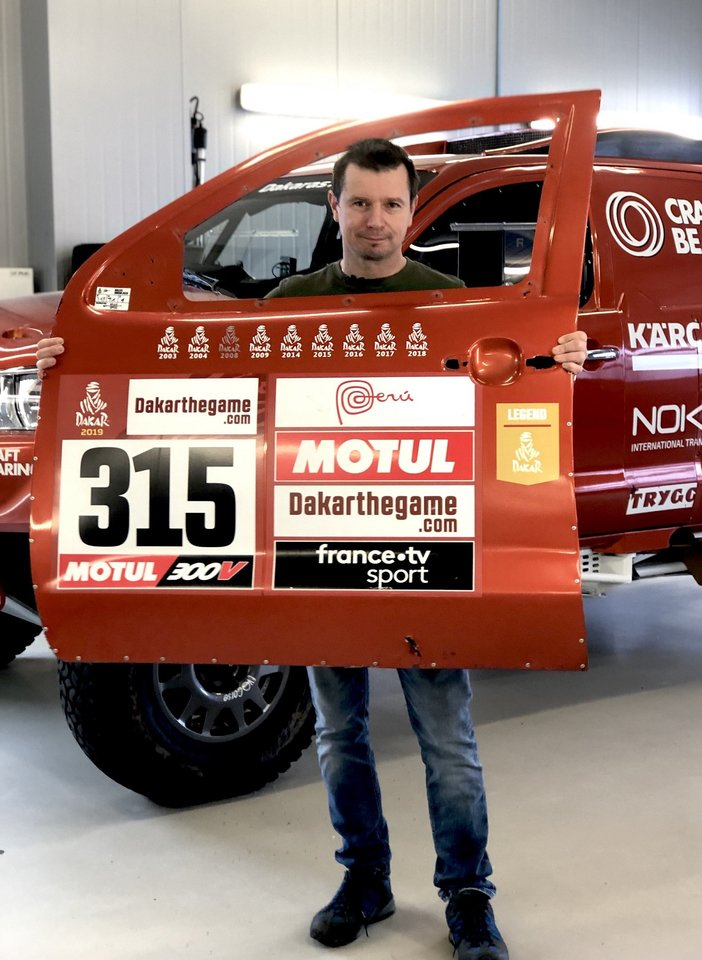 2003-iais prasidėjusi legendinė Antano Juknevičiaus Dakaro istorija gyva iki šio momento.<br>Pranešėjų spaudai nuotr.
