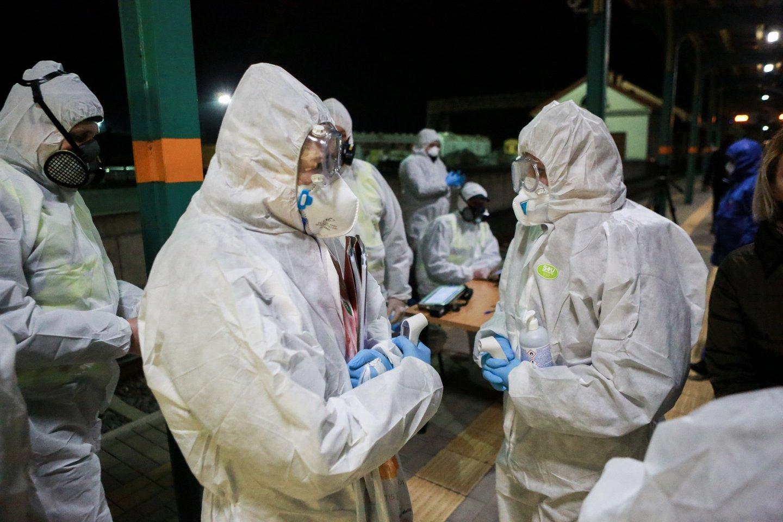 Lietuva pagal naujus užsikrėtimus koronavirusu per pastarąsias dvi savaites atsidūrė penkioliktoje vietoje Europoje.<br>G.Bitvinsko nuotr.
