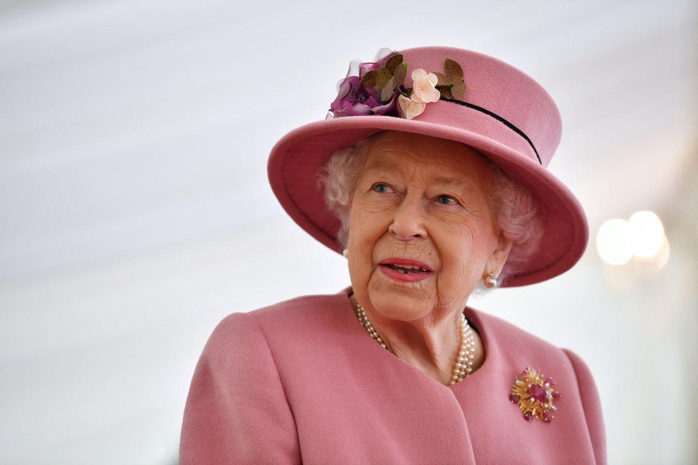 Elizabeth II.<br>Scanpix/AFP nuotr.