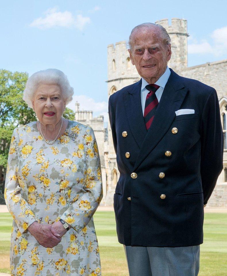 Princas Philipas ir Elizabeth II.<br>Scanpix/SI nuotr.