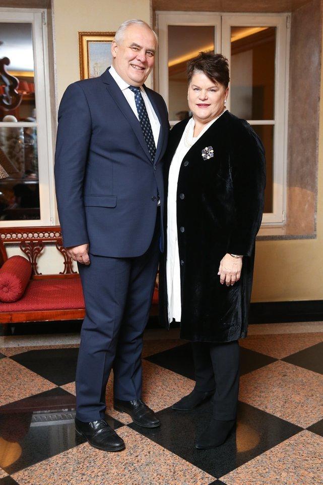 """Prezidento A.Brazausko žentui, """"Vaisingumo klinikos"""" vadovui A.Usoniui pareikšti įtarimai byloje dėl galimai neapskaitytų apie milijono eurų pajamų, o jo žmona A.Brazauskaitei-Usonienė įtariamąja kol kas nefigūruoja.<br>R.Danisevičiaus nuotr."""