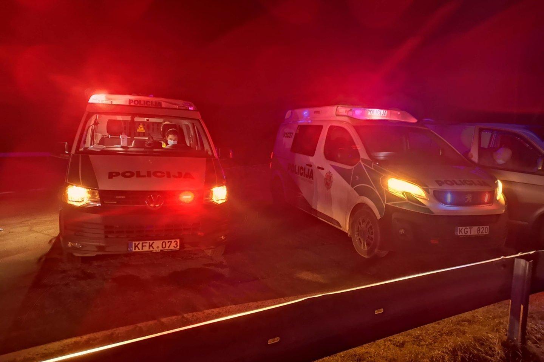 Partrenktas automobilio kelyje Klaipėda-Palanga žuvo pėsčiasis.<br>A.Vaitkevičiaus asociatyvi nuotr.