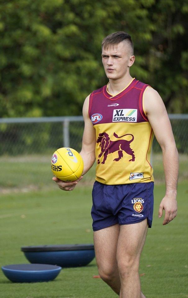 """D.Uosis pradėjo ruoštis pirmajam sezonui AFL su """"Brisbane Lions"""".<br>""""Brisbane Lions"""" nuotr."""