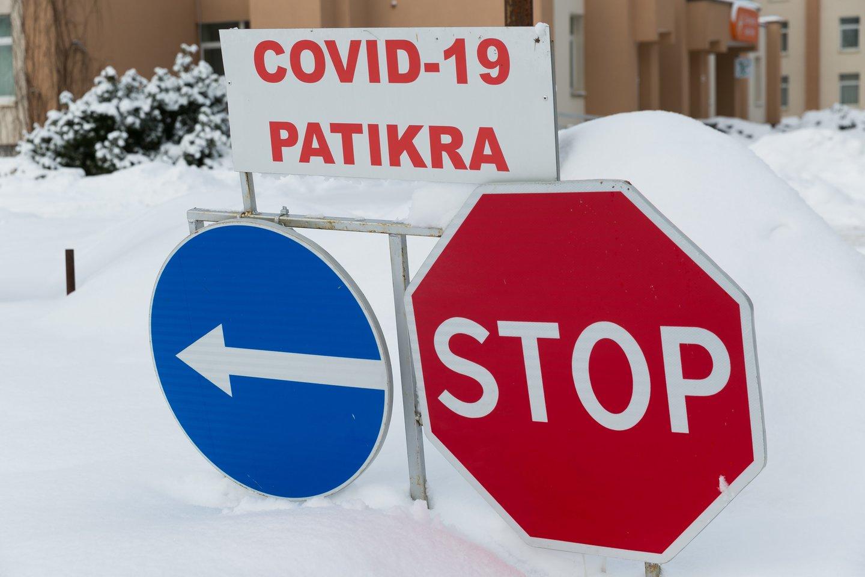 Koronavirusas Lietuvoje.<br>T.Bauro nuotr.
