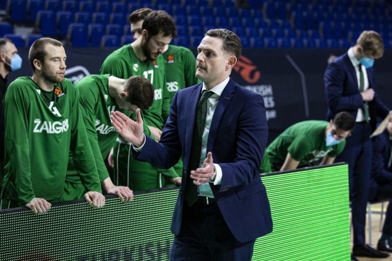 """""""Žalgirio"""" ekipos treneris Martinas Schilleris.<br>Zalgiris.lt nuotr."""