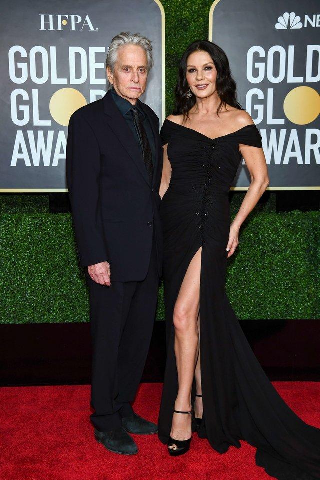 Michaelas Douglasas ir Catherine Zeta-Jones.<br>Scanpix nuotr.