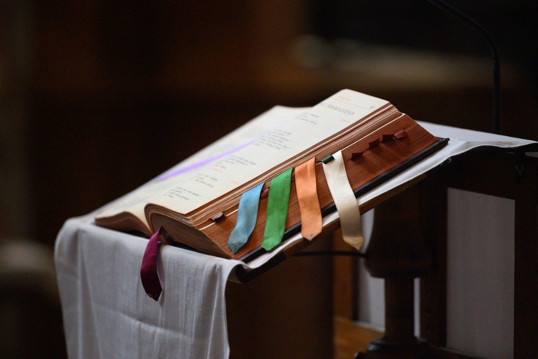 Pasak V.Malinausko, tiek kunigams, tiek pačiai bažnyčiai labiausiai rūpi dvasinė ir moralinė gerovė, tad religinė bendruomenė turi teisę viešai reikšti savo įsitikinimus.<br>V.Skaraičio nuotr.