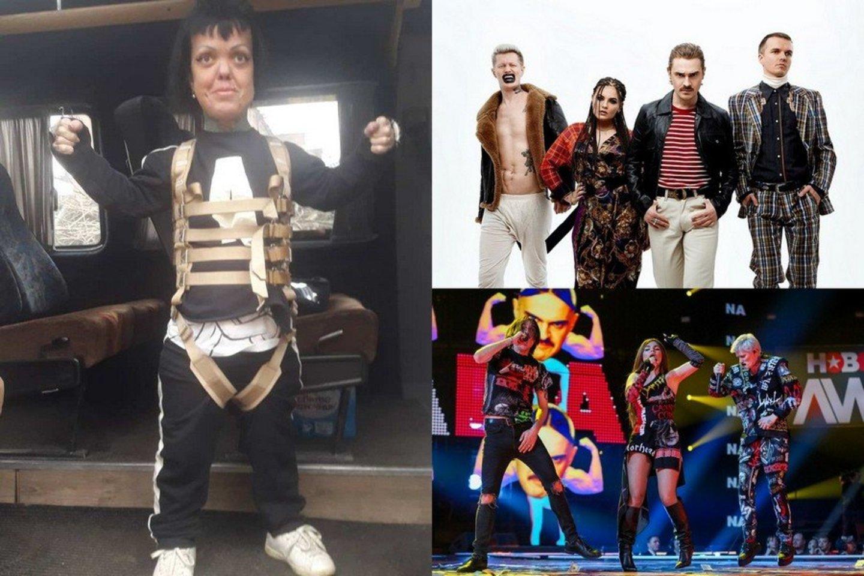 """Negyva rasta buvusi rusų grupės """"Little Big"""" narė (kairėje).<br>Organizatorių, scanpix ir instagramo nuotr."""