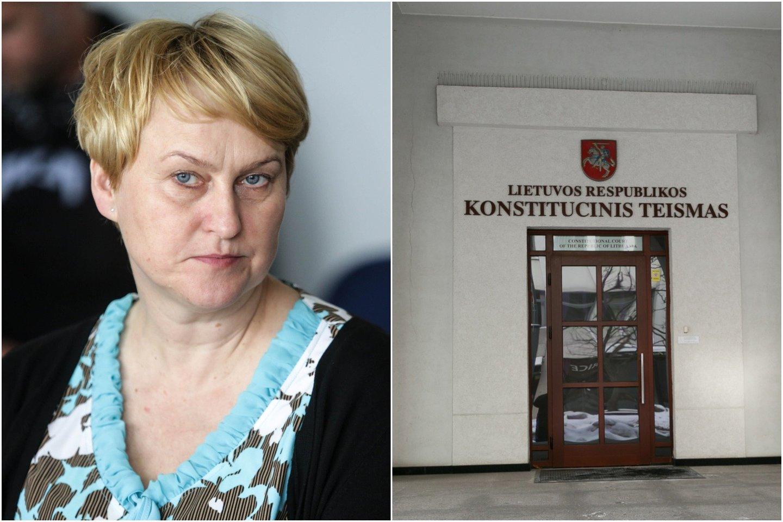 Neseniai Konstitucinio teismo teisėja tapusi G.Lastauskienė jau spėjo prieštaringai pasižymėti.<br>lrytas.lt montažas.