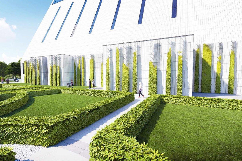 Vilniaus miestas planuoja naują parką Pilaitės rajone. Šalia Juozapo bažnyčios bus sutvarkyta ir apželdinta aplinka. Skveras tvarkomas klasikinio sodo kūrimo principais. Pritaikant prie esamos teritorijos, įvedami modernūs elementai.<br>Vizual.