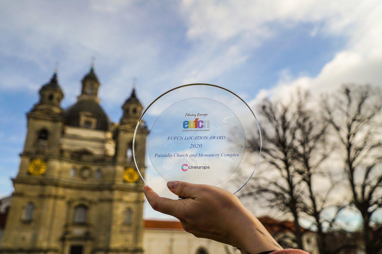 """Dėl""""Location Award"""" apdovanojimo su Pažaislio ansambliu varžėsi kelios dešimtys pretendentų.<br>Organizatorių nuotr."""