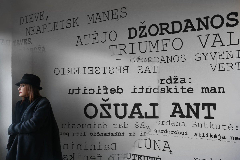 Džordana Butkutė.<br>V.Vaišvilaitės-Skirutienės nuotr.