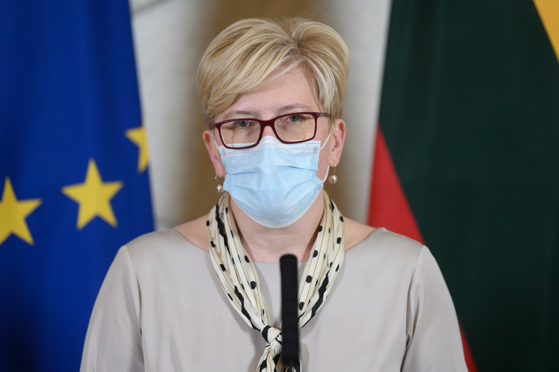 Ingrida Šimonytė pristatė, kokius darbus planuoja kadencijai.<br>V.Skaraičio nuotr.