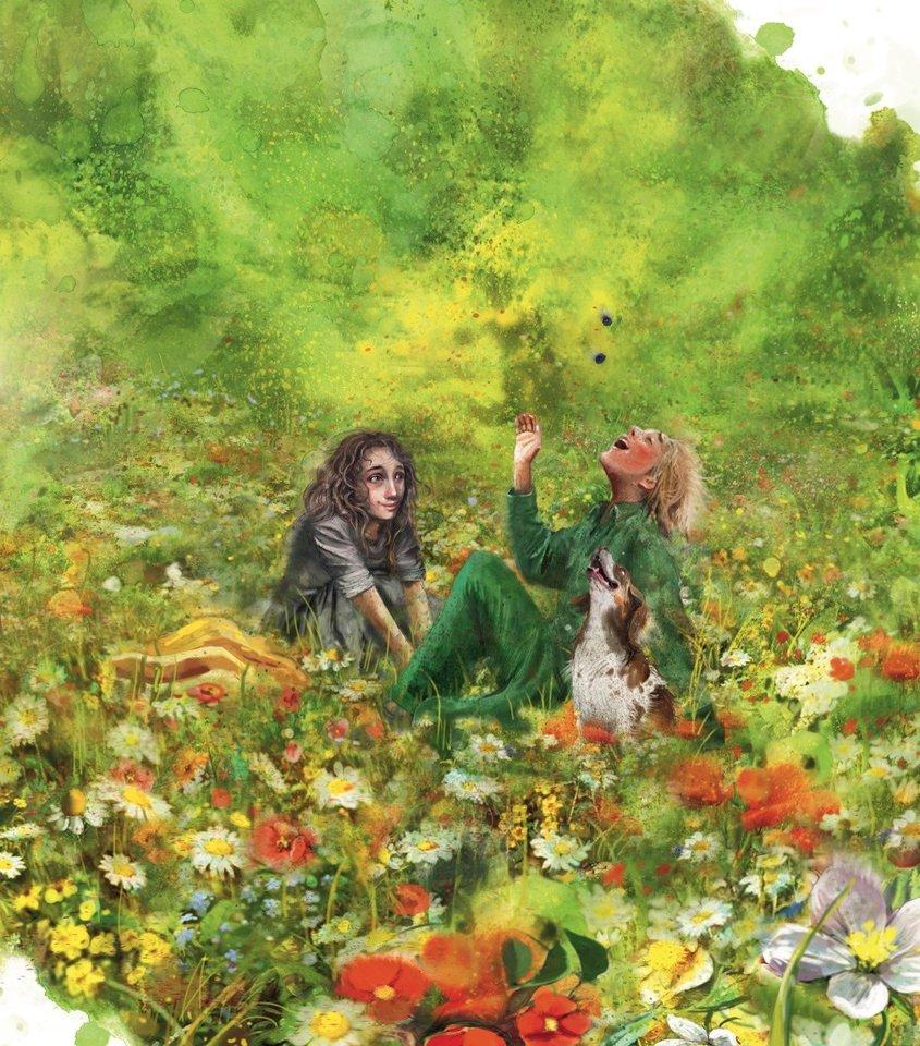 """Prikaustančias iliustracijas naujai knygai kūrė """"Sniego sesės"""" iliustracijų autorė Lisa Aisato.<br>""""Tyto alba"""" nuotr."""