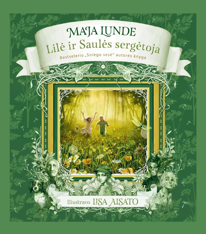 """Viena žymiausių norvegų rašytojų Maja Lunde kviečia leistis į užburiančias pavasario ir saulės paieškas knygoje """"Lilė ir Saulės sergėtoja"""".<br>""""Tyto alba"""" nuotr."""