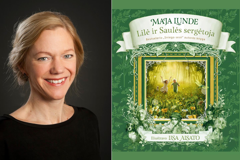 """Viena žymiausių norvegų rašytojų Maja Lunde kviečia leistis į užburiančias pavasario ir saulės paieškas knygoje """"Lilė ir Saulės sergėtoja"""".<br>lrytas.lt koliažas"""