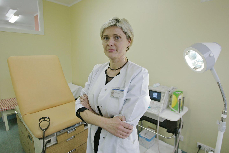 Daktarė Daiva Kanopienė<br>V.Ščiavinsko nuotr.