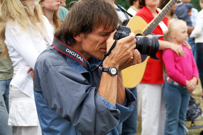 Fotomenininkas E.Jurčys.<br>A.Stanevičiaus nuotr.