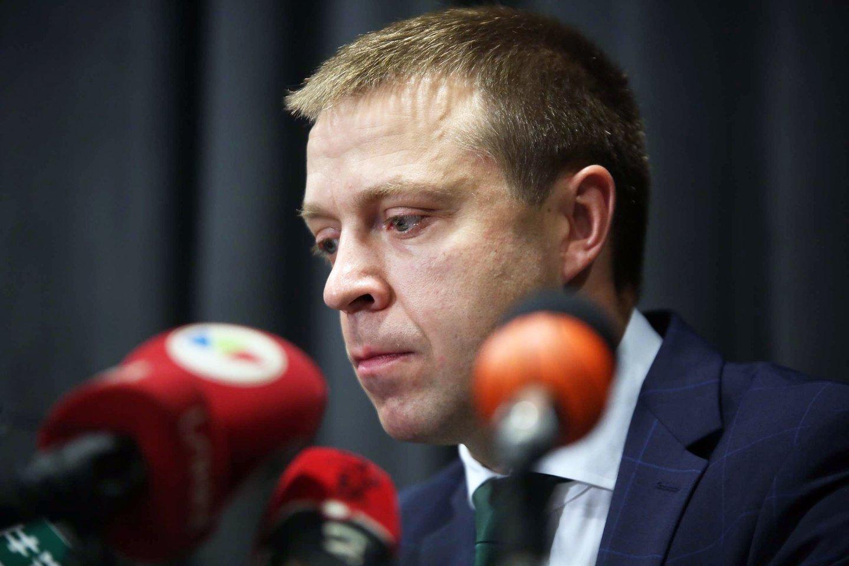 """Kauno """"Žalgirio"""" vadovas Paulius Motiejūnas nemano, kad klubą paliks žaidėjai.<br>M.Patašiaus nuotr."""