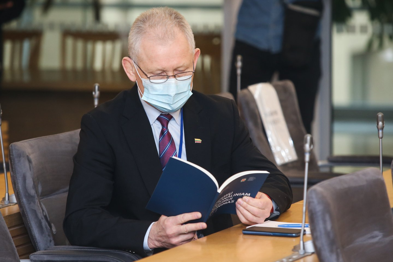 Lietuvos žvalgybos tarnybos pristatė grėsmių nacionaliniam saugumui vertinimą.<br>R.Danisevičiaus nuotr.