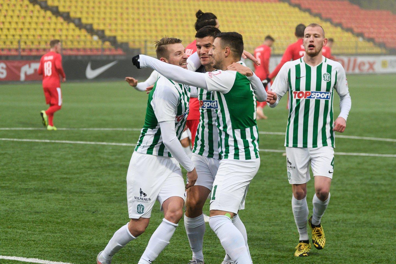 Vilniaus klubas pateko į koronaviruso spąstus.<br>V.Skaraičio nuotr.
