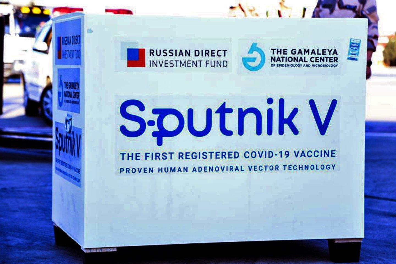 """Europos vaistų agentūra (EVA) ketvirtadienį pranešė pradėjusi rusiškos vakcinos nuo koronaviruso """"Sputnik V"""" vakcinos """"tęstinę peržiūrą"""".<br>AFP/Scanpix nuotr."""