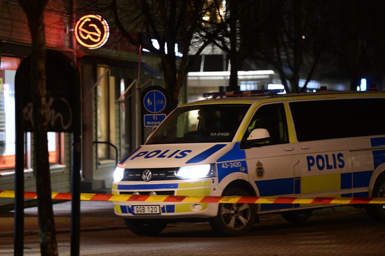 Išpuolis Švedijoje.<br>TT NEWS/Scanpix nuotr.