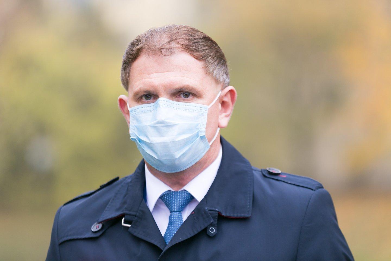 Vilniaus miesto klinikinės ligoninės direktorius Narimantas Markevičius.<br>T.Bauro nuotr.