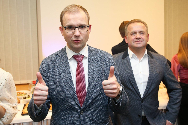 V.Gapšys tikino su R.Kurlianskiu aptarinėjęs jau buvusius įvykius. <br>R.Danisevičiaus nuotr.