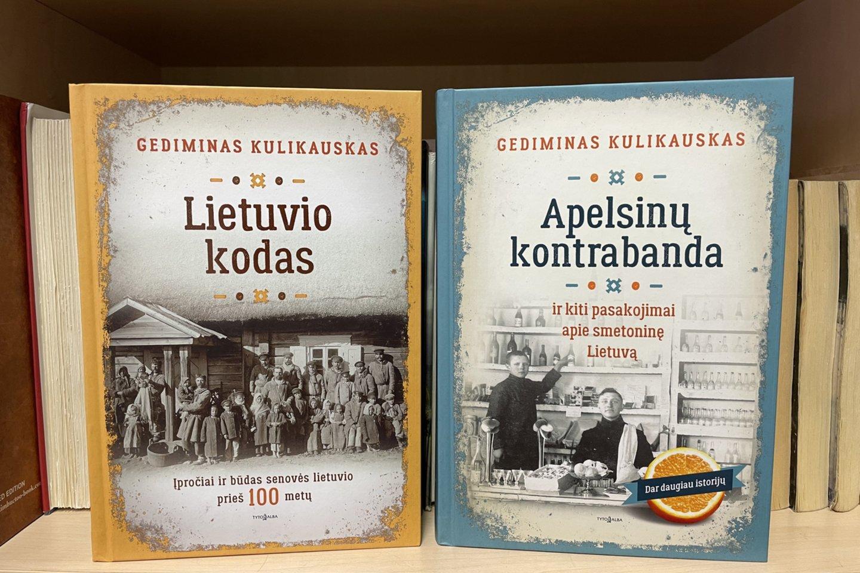 Gedimino Kulikausko knygos.<br>G.Kavaliauskaitės nuotr.