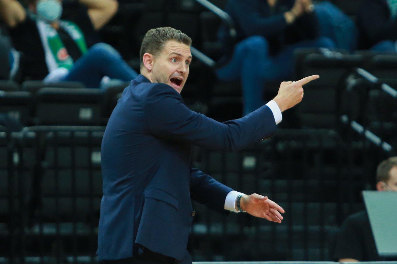 """""""Žalgirio"""" treneris Martinas Schilleris.<br>G.Bitvinsko nuotr."""