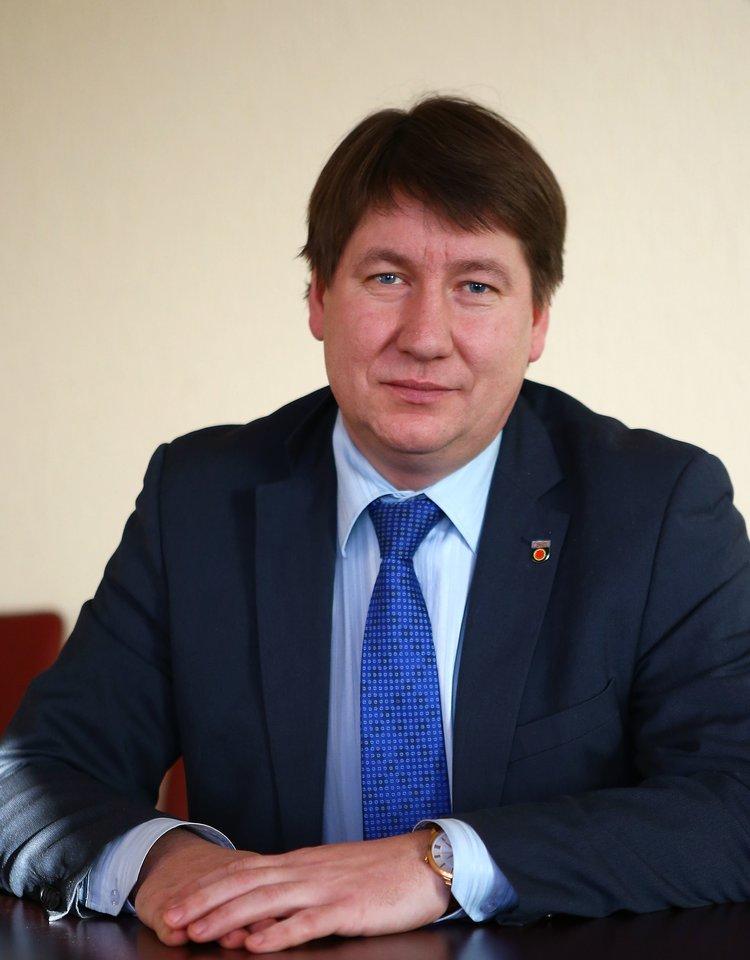 Akmenės rajono meras V.Mitrofanovas
