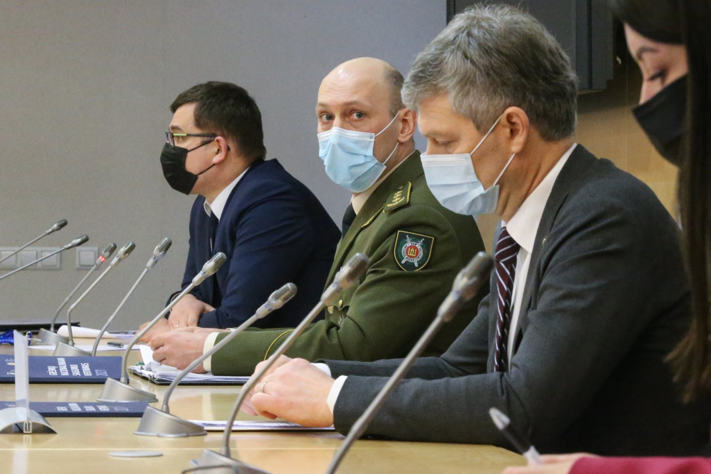 VSD pristatė naują grėsmių nacionaliniam saugumui ataskaitą.<br>R. Danisevičiaus nuotr.