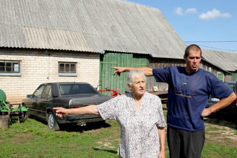 V.Lelys ir jo motina prarado ramybę prieš dvejus su puse metų, kai į jų tvarkingą namą atsikraustė gyvūnų globėja.<br>panskliautas.lt redakcijos archyvo nuotr.