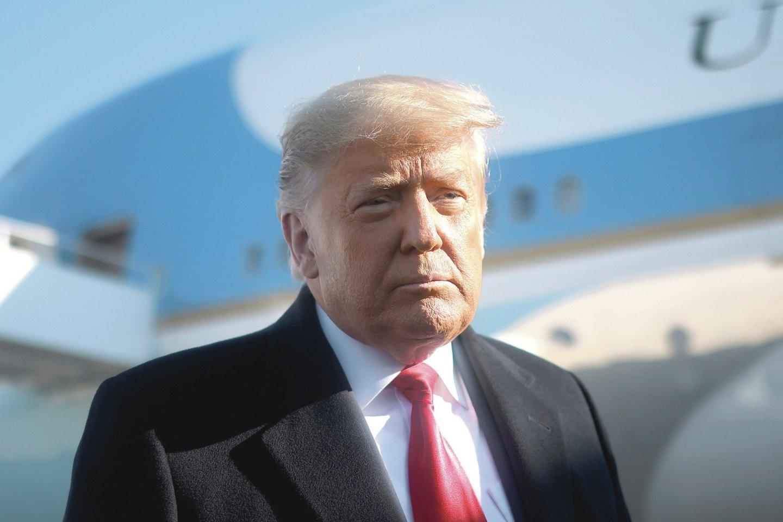 Donaldas Trumpas<br>Scapix nuotr.