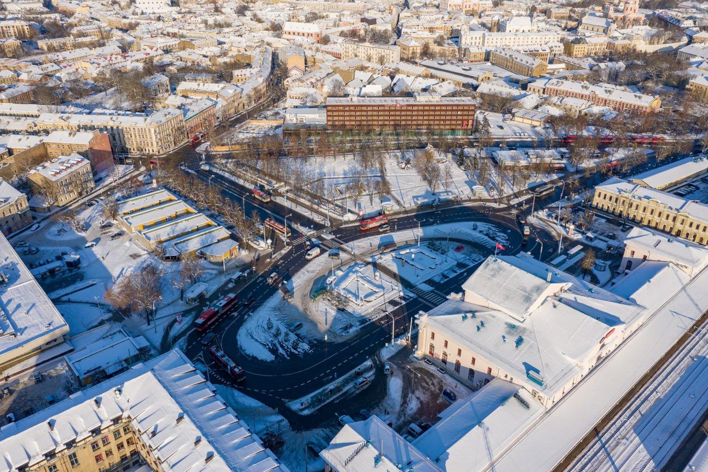 Vilniui ruošiantis iš esmės pertvarkyti Stoties rajoną, konkrečių idėjų laukiama iš architektų.<br>S.Žiūros nuotr.
