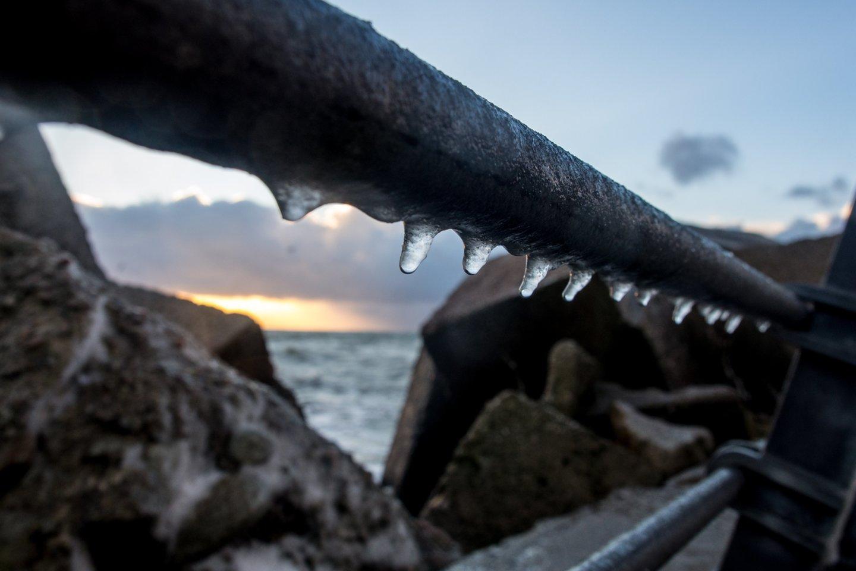 Orai bus šalti ir vėjuoti.<br>V. Ščiavinsko nuotr.