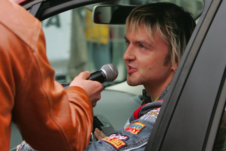 S.Stavickis-Stano yra turėjęs ne vieną automobilį.<br>V.Ščiavinsko nuotr.