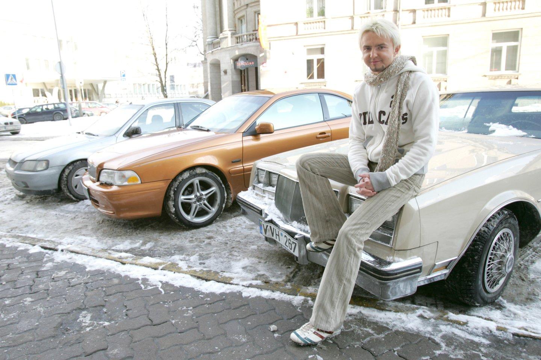 S.Stavickis-Stano yra turėjęs ne vieną automobilį.<br>T.Bauro nuotr.