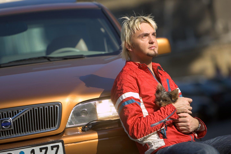 S.Stavickis-Stano yra turėjęs ne vieną automobilį.<br>G.Skaraitienės nuotr.