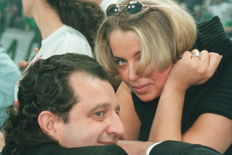 Šabtajus Kalmanovičius su Anastasija 2009 m.<br>LR archyvo nuotr.