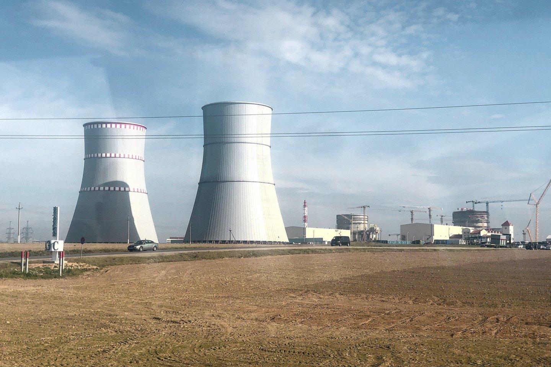50 km nuo Vilniaus nutolusi Astravo atominė elektrinė veikia nuo rudens.