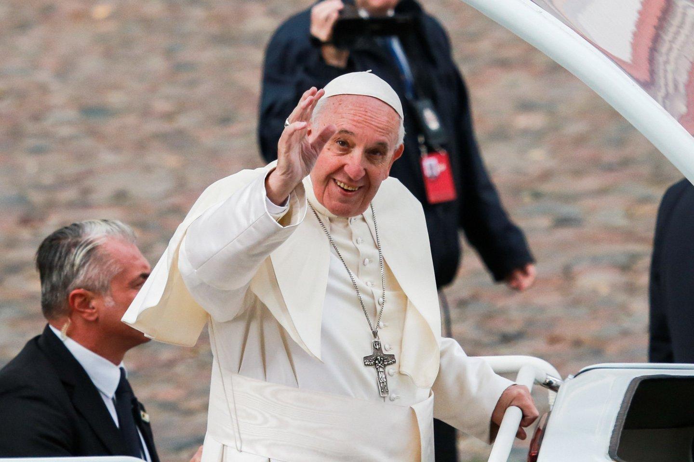 Popiežius Pranciškus.<br>G.Bitvinsko nuotr.