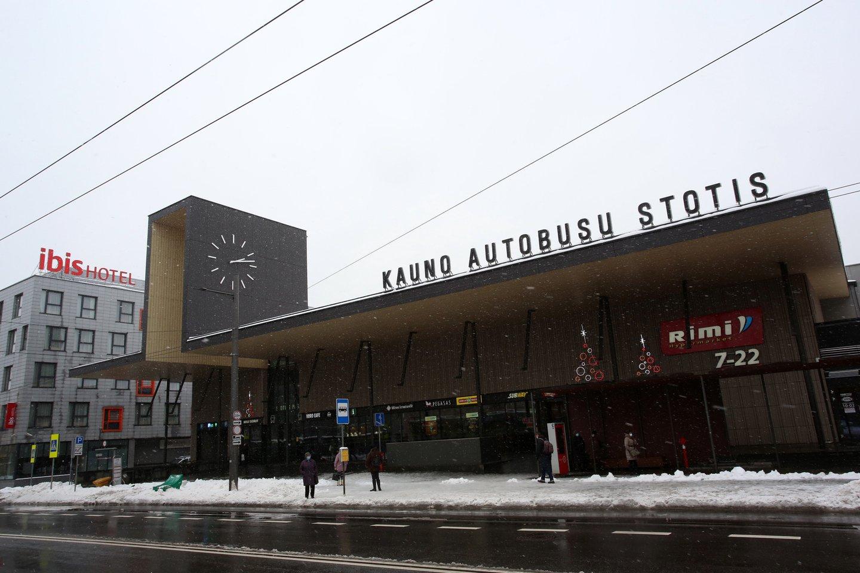 Kauno autobusų stotis.<br>M.Patašiaus nuotr.
